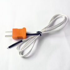 100cm Length Wire Temperature Test K-type Thermocouple Sensor Probe Tester 1 M