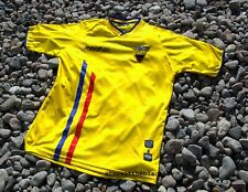 ECUADOR NATIONAL TEAM 2004 2006 HOME FOOTBALL SOCCER SHIRT JERSEY MARATHON XL