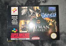 Batman Returns snes Super Nintendo nes Top Zustand Mint