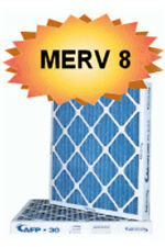 18x18x1 Merv 8 Pleated Furnace HVAC Air Filters (12 pack). Made in NC!