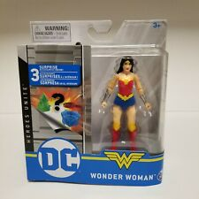 """Wonder Woman Dc Heroes Unite Action Figure 4"""" Spin Master In Hand Free Ship"""