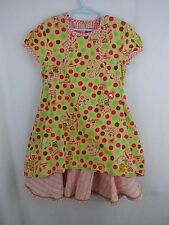 Oilily Girls 128 7 8 Polka Dot Plaid Trim ACC Dress Pink Beauty Tools Cats Snaks