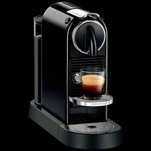NESPRESSO Citiz COLORE NERO Macchina Caffè Capsule D113 Con Descaling 1X100ML
