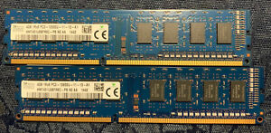 8 GB HYNIX HMT451U6CFR8C-PB 1Rx8 DDR3 PC3 12800 1600MHz DESKTOP MEMORY