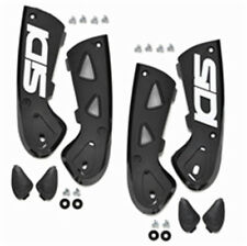 SIDI VORTICE MOTORCYCLE BOOTS ANKLE SUPPORT BRACES BLACK 39-44 PAIR (81)