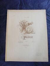 Partitura El Florero roto E Paladilhe Music Sheet Grande Formato