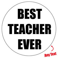 EXTRA LARGE TEACHER school ANY Personalised Stickers Envelope Bag Box Seal 564