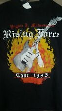YNGWIE MALMSTEEN 1985 Rising Force vintage licensed concert tour shirt SM NEW