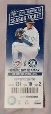 Toronto Blue Jays Vs Seattle Mariners 9/20/16 Ticket Josh Donaldson Home Run