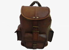 Leather Backpack Bag Women Rucksack Daypack Travel Handbag School Shoulder Bag