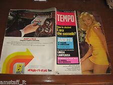 RIVISTA TEMPO 1971/26=LEIGH CHRISTIAN=LINOSA=LAMPEDUSA=ENZO PACI=