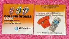 ROLLING STONES - LICKS World Tour - Rare Fan Club PROMO Sampler CD - Sealed NEW
