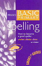 Pascal's Basic Primary Spelling by P. Walker (Paperback, 2002)