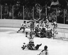 1980 Miracle on Ice USA HOCKEY TEAM 8x10 Photo Hockey Olympics Celebration Print