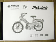 Mobylette/Moped/Series/ H50 / G50 / In French/ Parts Book With Exploded Diagrams