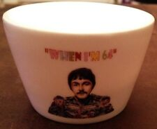 THE BEATLES When I'm 64 CHINA TEALIGHT CANDLE HOLDER 64th Birthday Gift UNUSUAL