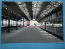 PHOTO  LLANDUDNO RAILWAY STATION INTERIOR VIEW TAKEN FROM THE BUFFER STOPS IN 19