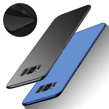 Ultra Thin Slim Matte Hard Back Case Cover For Samsung Galaxy S6 S7 Edge S8 S10+