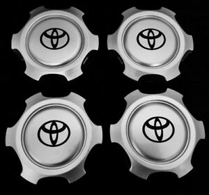 """wheel center cap hub for Tacoma, Tundra 4Runner 6 Lugs 15"""" and 16"""" Rim 4xPC ONLY"""