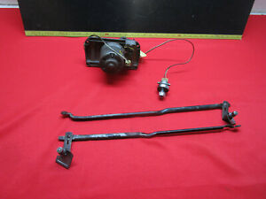 1958 CHEVROLET CHEVY IMPALA BELAIR BISCAYNE ELECTRIC WIPER MOTOR SWITCH LINKAGE