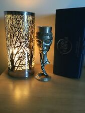 More details for lord of the rings royal selangor solid pewter arwen goblet - 22 cms high