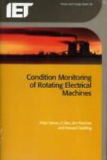 Condition Monitoring of Rotating Electrical Machines (IET Power and Energy), Tex