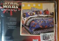Brand new in package STAR WARS EPISODE I Twin Bed Sheet Set