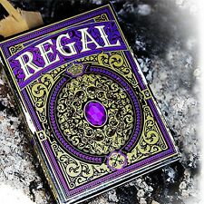Regal Purple Playing Cards poker juego de naipes Expert Playing Card Company