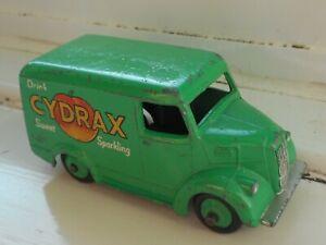 Dinky 454 Trojan 15cwt Van Cydrax in green, good used condition 1956 vintage