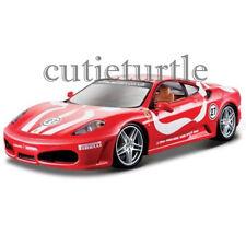 Bburago Ferrari Race & Play Ferrari F-430 Fiorano Coupe 1:24 Diecast 26059 Red
