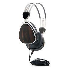 Lstn Headphones. Ebony Wood Troubadours W/ Mic