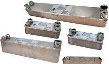 Beer Wort Chiller Stainless Steel Heat Exchanger Brewing Homebrew Cooler Water