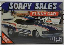 DODGE SOAPY SALES CHALLENGER FUNNY DRAG RACE CAR MOPAR 72-74 BOYS MPC MODEL KIT