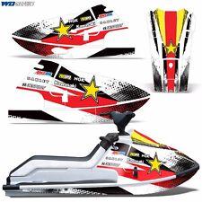 Decal Graphic Kit Kawasaki Jet Ski Wrap Jetski X2 JF650 Parts JF 650 86-95 R S