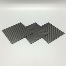 Carbon Fiber Plate Panel. 6K 100% Carbon Sheet. Made In The US .032