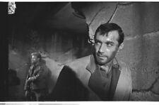 RICK JASON VIC MORROW ON SET OF COMBAT! RARE ORIGINAL 1963 ABC TV PHOTO NEGATIVE