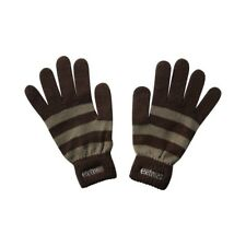 Guanti ETNIES Subtle marroni brown chocolate righe gloves skateboard streetwear