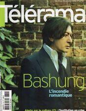 telerama n°2753 alain bashung pier paolo pasolini benigni nanni moretti 2002