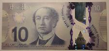 Gem UNC Canada $10 2013 polymer bill Bank Notes
