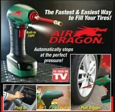 Air Dragon, portable, powerful air compressor that's powered by your Car