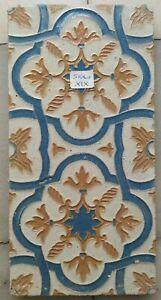 Siglo XIX Azulejo de Cuenca o Arista realizados en Triana Sevilla
