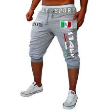 Mens Casual Short Pants Summer Shorts Sports Gym Jogging Camo Capris Trousers
