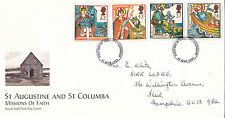 GB 1997 Commemorative FDC: St Augustine & St Colombo