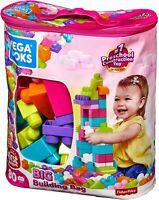 Mega Bloks First Builders Building Bag Blocks Big Building Toys Toddlers NEW