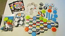 Monopoly U-Build Board Game Replacement Tiles, Proprties, Bridges, Buildings etc
