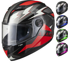 Agrius Rage Voltage Full Face Motorcycle Helmet Motorbike Bike Pinlock Ready Blue M 51009-0305