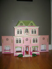 "Fisher Price Loving Family Dollhouse Doll House GRAND MANSION 30"" Vintage 2008"