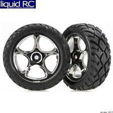 Traxxas 2479R Mounted Front Anaconda 2.2 chrome Tires (2)