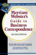 Merriam-Webster's Guide to Business Correspondence, Second Edition  Hardcover