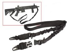 Rothco 4656 Black Military Style Two 2 Point Bungee Rifle Sling